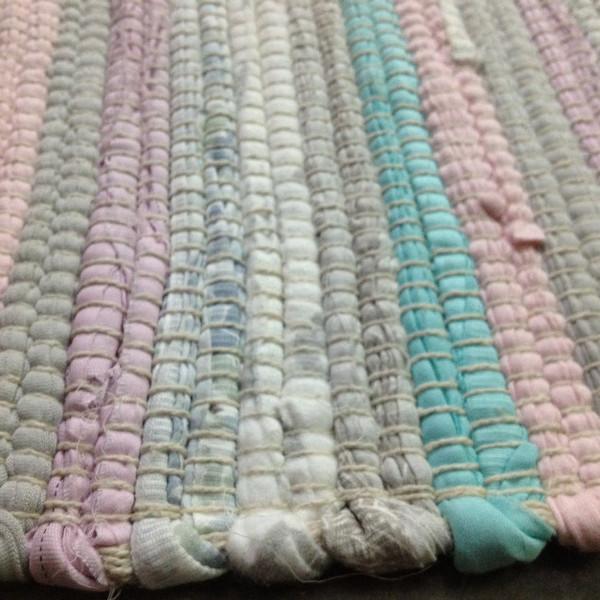 Wonderful Pastel Cotton Rag Rug